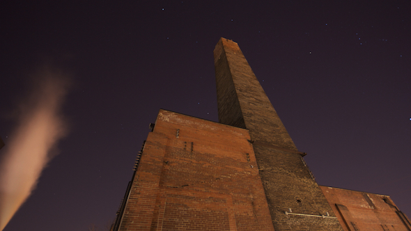 Old Smoke Stack and the Stars