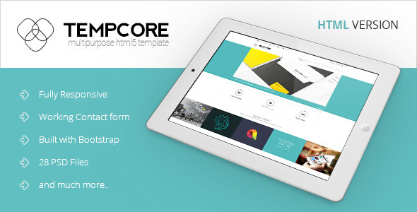 ThemeForest Tempcore Business HTML5 Template 6905608
