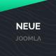 Neue App Landing Page Joomla Template - ThemeForest Item for Sale
