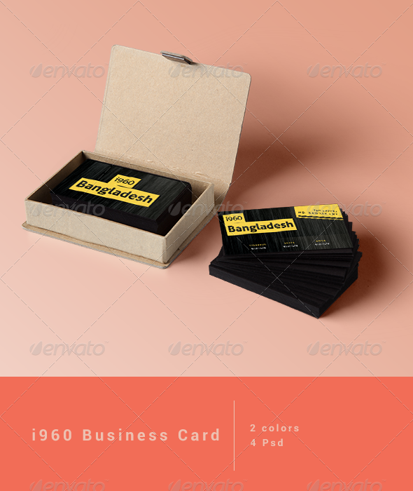 GraphicRiver i960 Business card 6908536