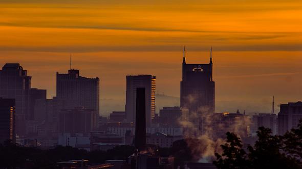 Nashville Morning Sunrise