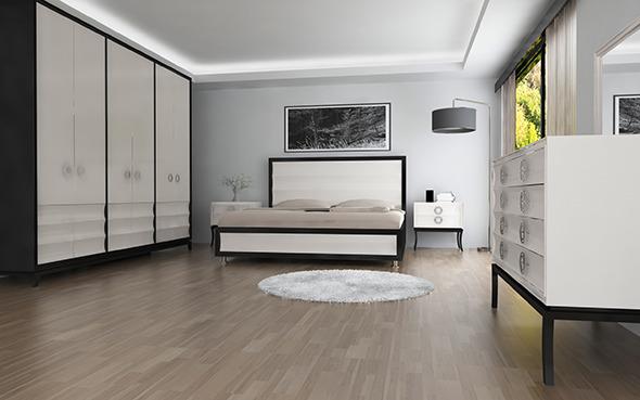 Interior / Modern Bedroom 01 - 3DOcean Item for Sale