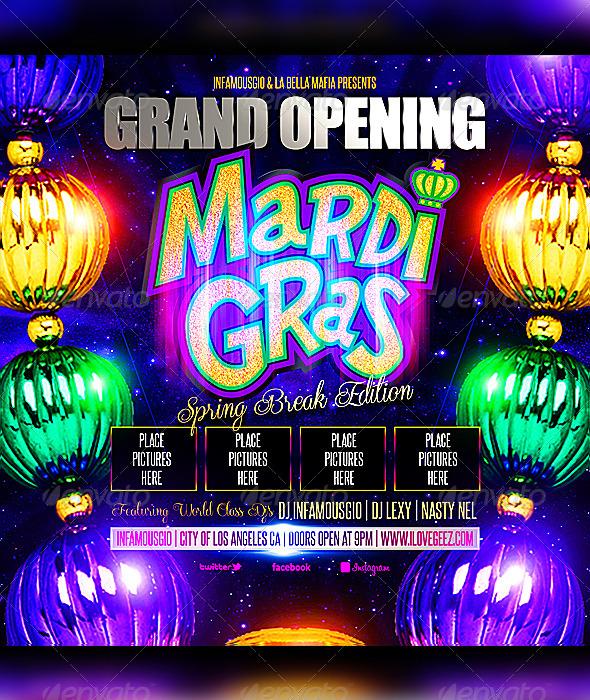 GraphicRiver Mardi Gras 1 6900965