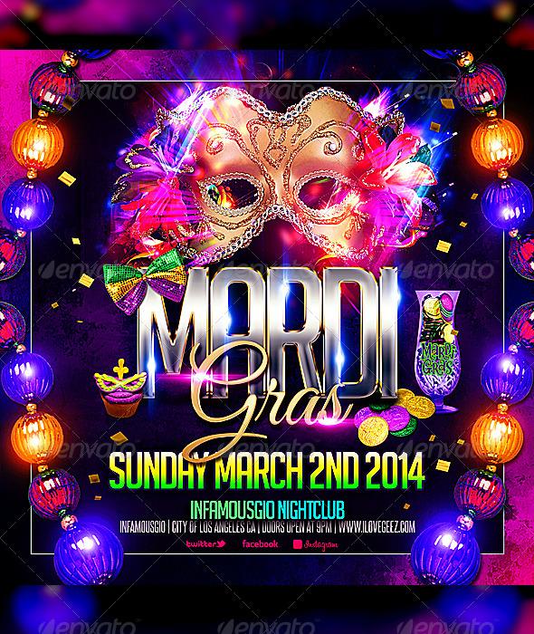 GraphicRiver Mardi Gras 3 6909899