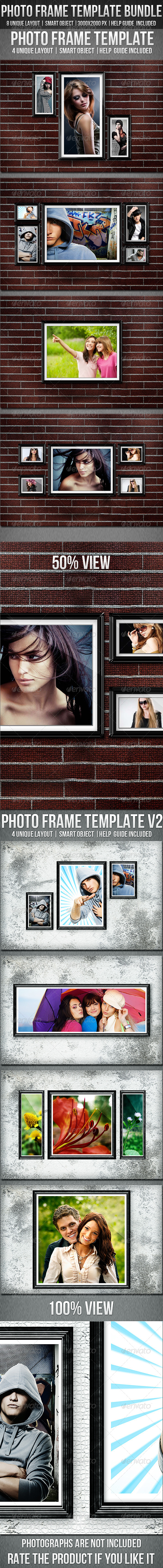 GraphicRiver Photo Frame Template Bundle 6910012