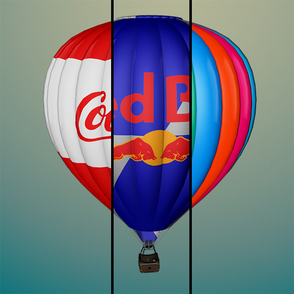 3DOcean Air Balloon 6910045