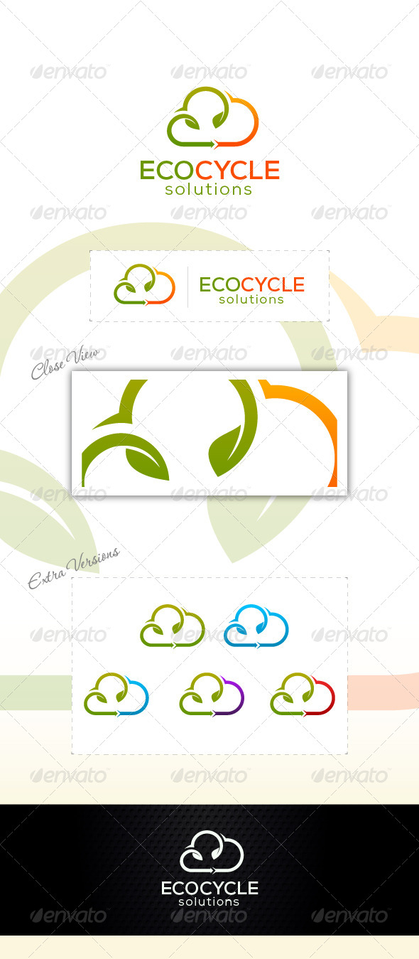 GraphicRiver Eco Recycle 6910410