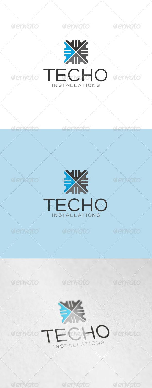 GraphicRiver Techo Logo 6910544