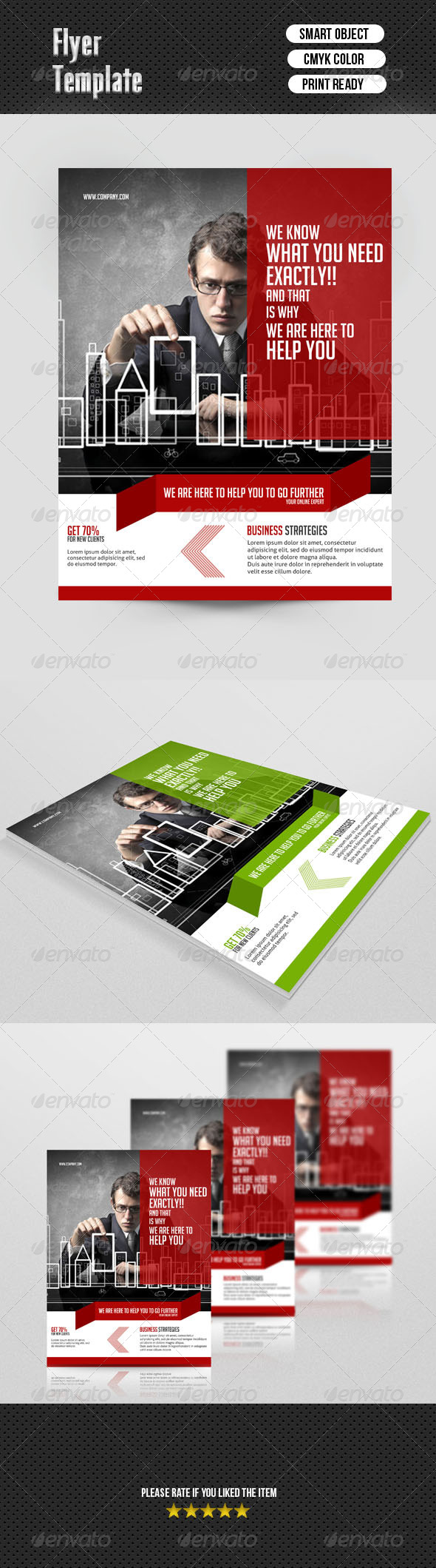 GraphicRiver Business Flyer 6911260