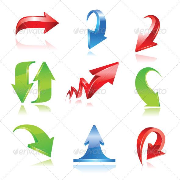 GraphicRiver Arrow Set 6911290