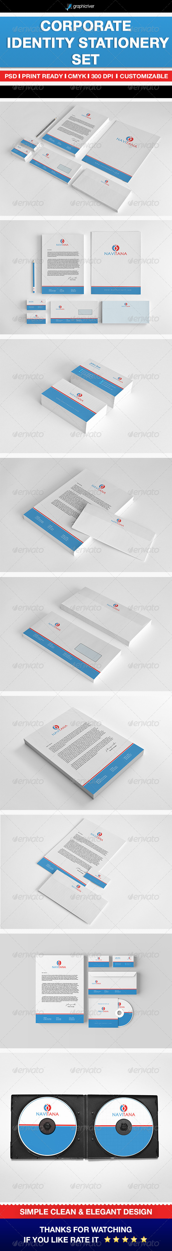 GraphicRiver Corporate Identity Stationery Set 6902259