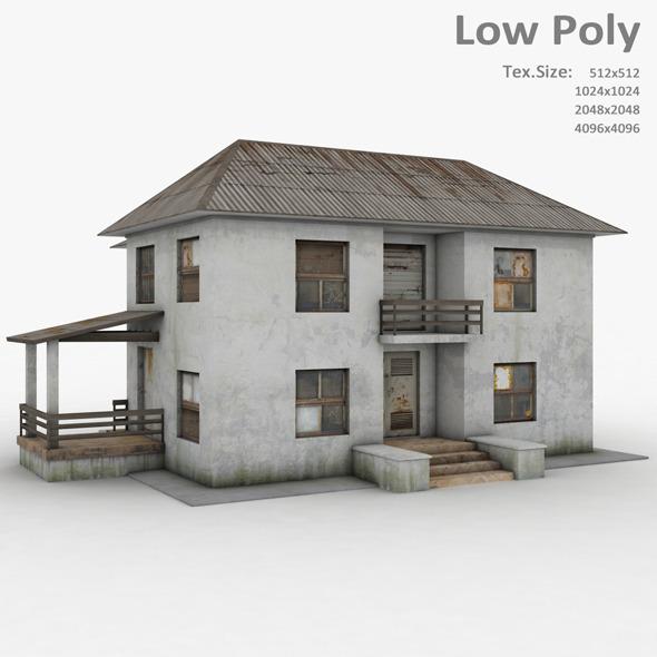 Building 011 - 3DOcean Item for Sale
