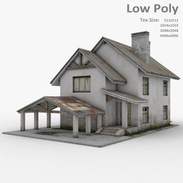 Building 014 - 3DOcean Item for Sale