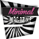 Minimal Magazine - GraphicRiver Item for Sale