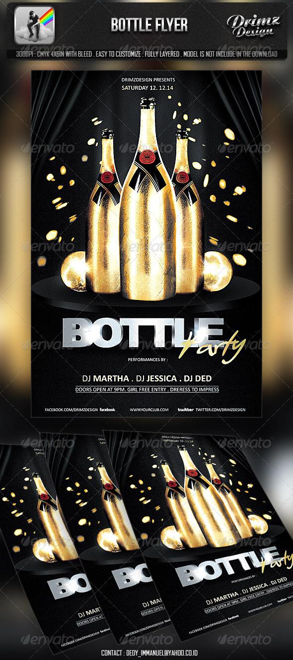 GraphicRiver Bottle Flyer 6904886