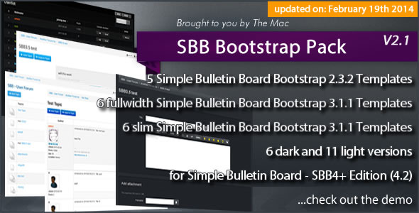 Simple Bulletin Board - Bootstrap Pack - CodeCanyon Item for Sale