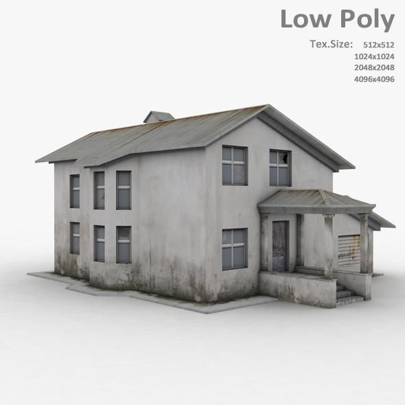 Building 020 - 3DOcean Item for Sale