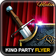 The King's Party Flyer - GraphicRiver Item for Sale