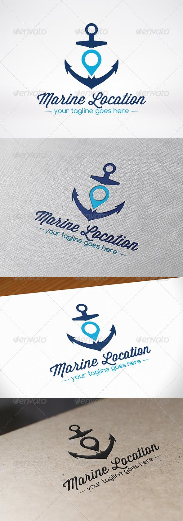 GraphicRiver Anchor Locator Logo Template 6913079