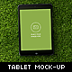 Nature Tablet Mock-up - GraphicRiver Item for Sale