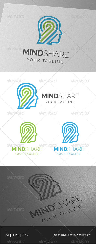 GraphicRiver Mindshare Logo 6913157