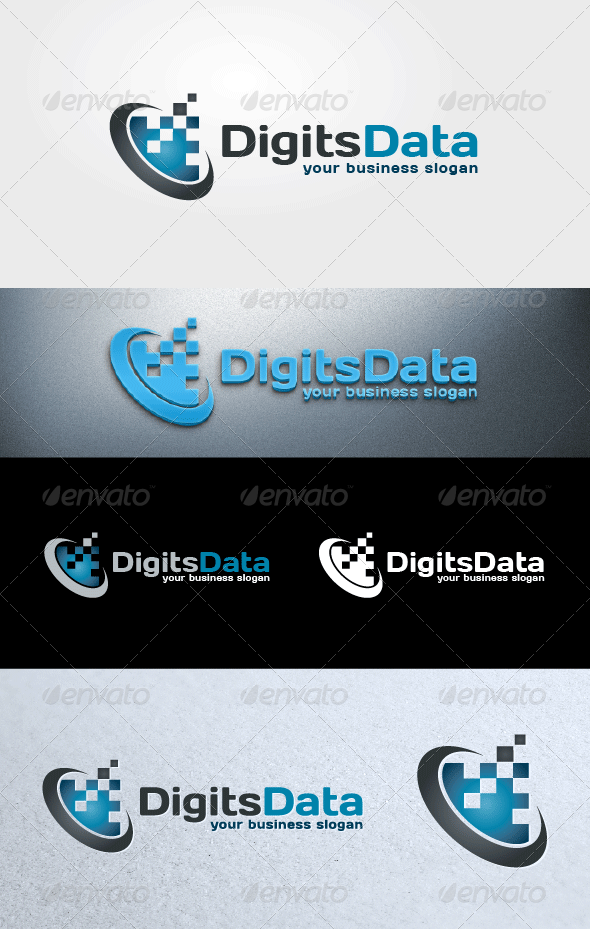 GraphicRiver Digits Data 6913213