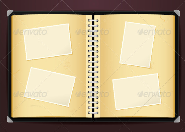 GraphicRiver Vintage Photo Album 6913285