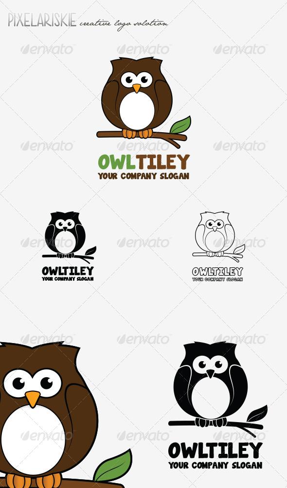 GraphicRiver Owltiley Animal Logo 6913384