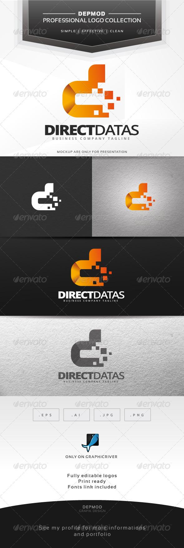 GraphicRiver Direct Datas Logo 6913496