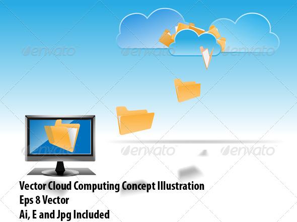 GraphicRiver Cloud Computing 6913500