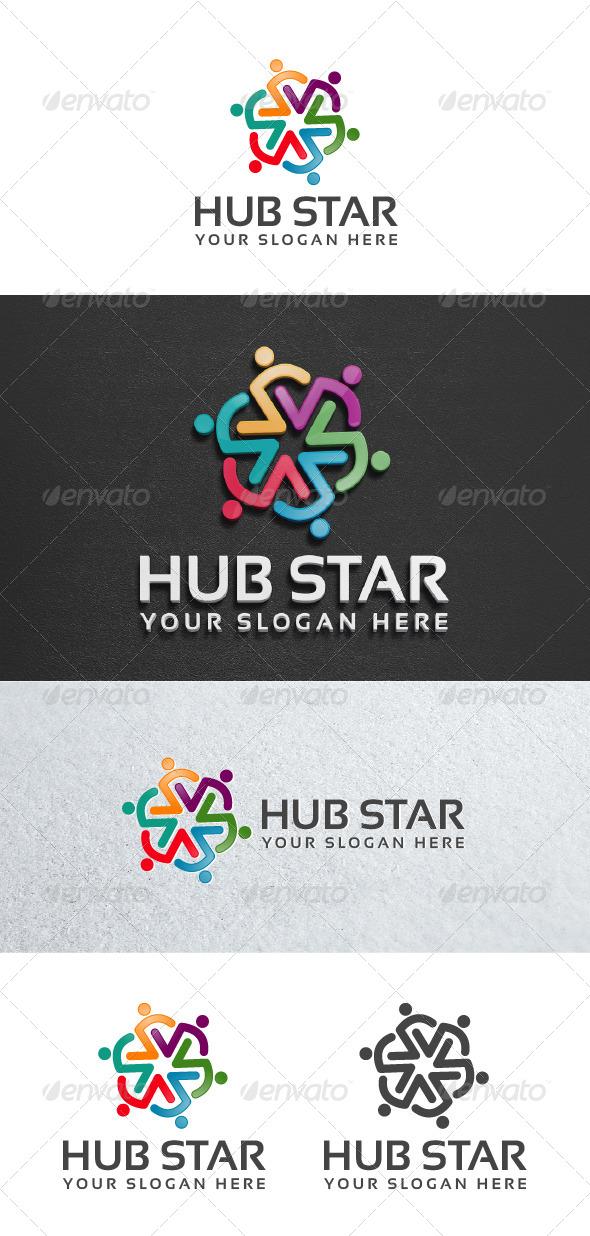 GraphicRiver Hub Star 6913524