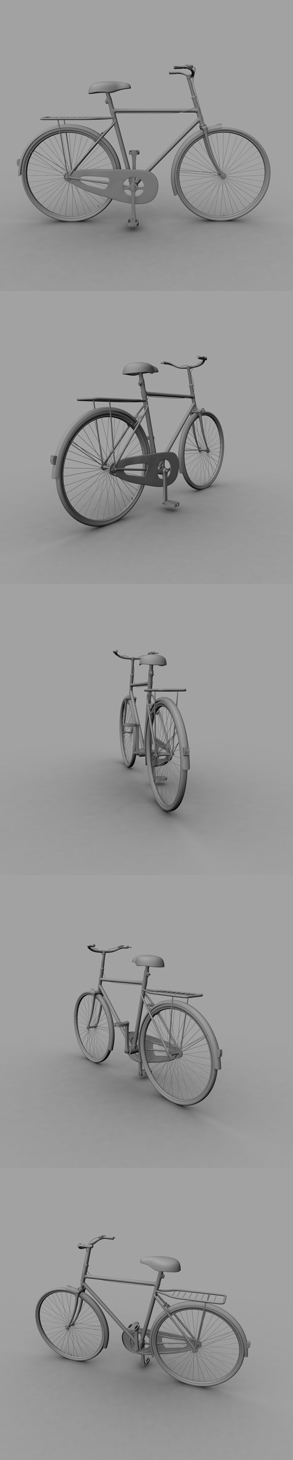 3DOcean Bicycle 6913557