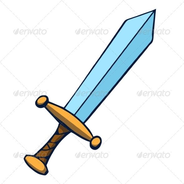 GraphicRiver Cartoon Sword 6913688