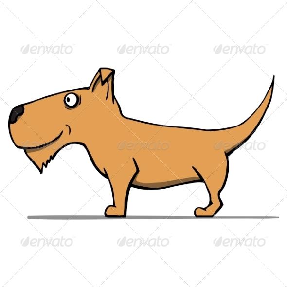 GraphicRiver Cartoon Dog 6913751