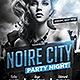 Noire City Party Flyer Template - GraphicRiver Item for Sale