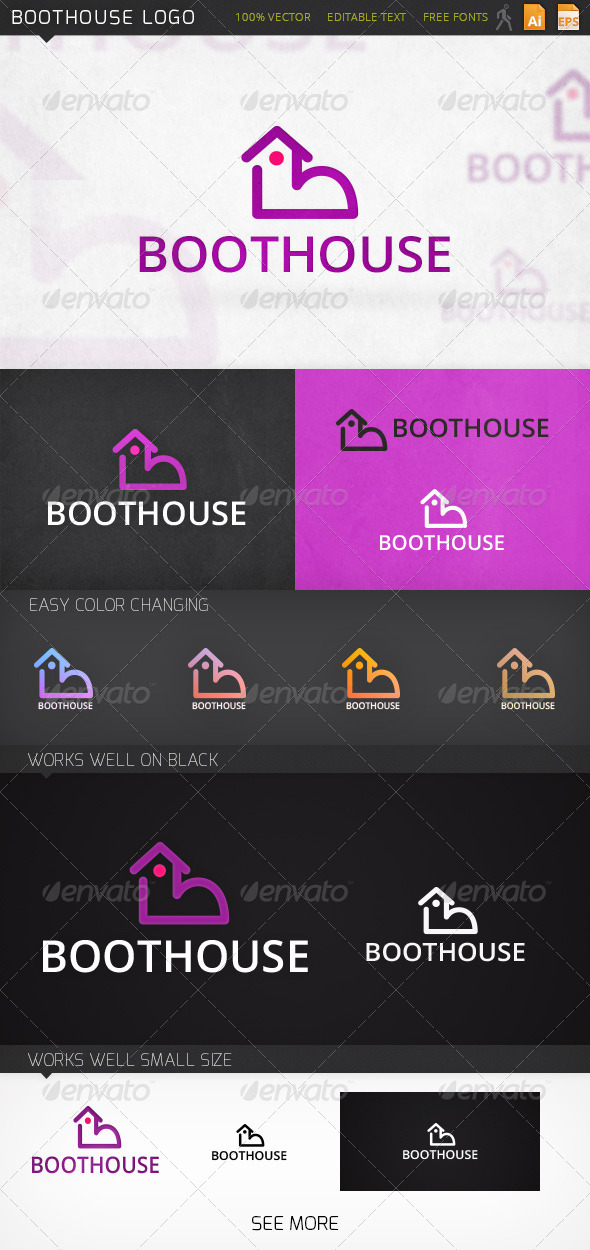 GraphicRiver Boothouse Logo 6914242