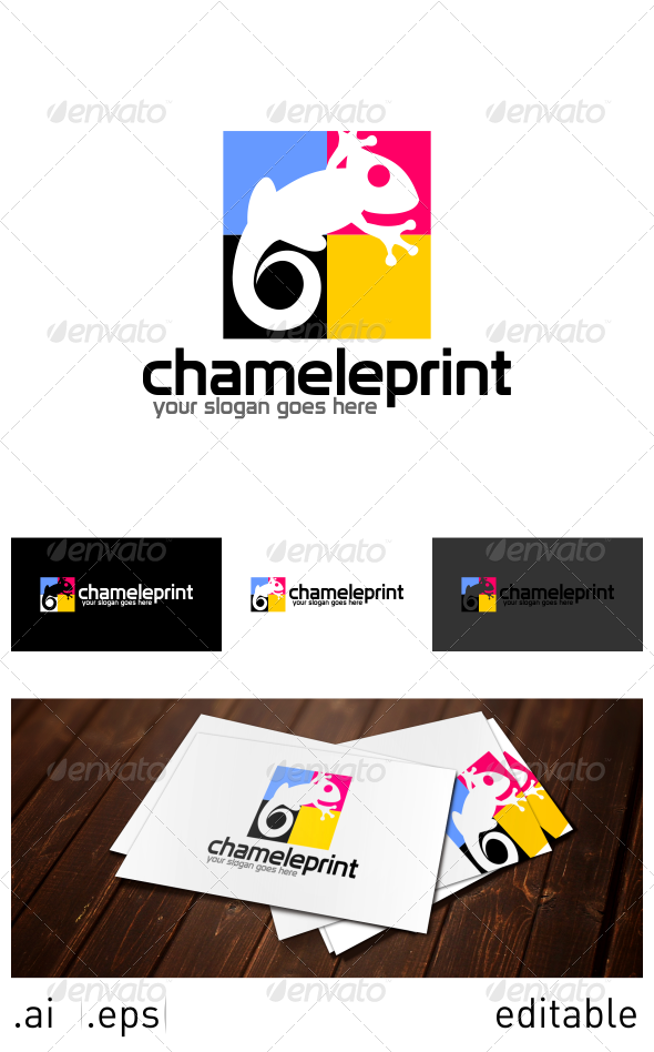 GraphicRiver Chameleprint Logo Template 6914400