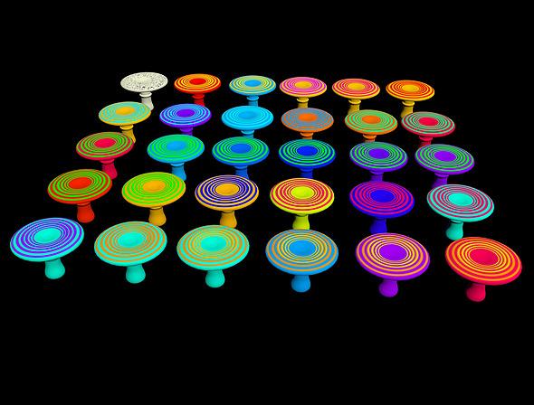 Mushroom Type 2 - 3D Game Asset - 3DOcean Item for Sale