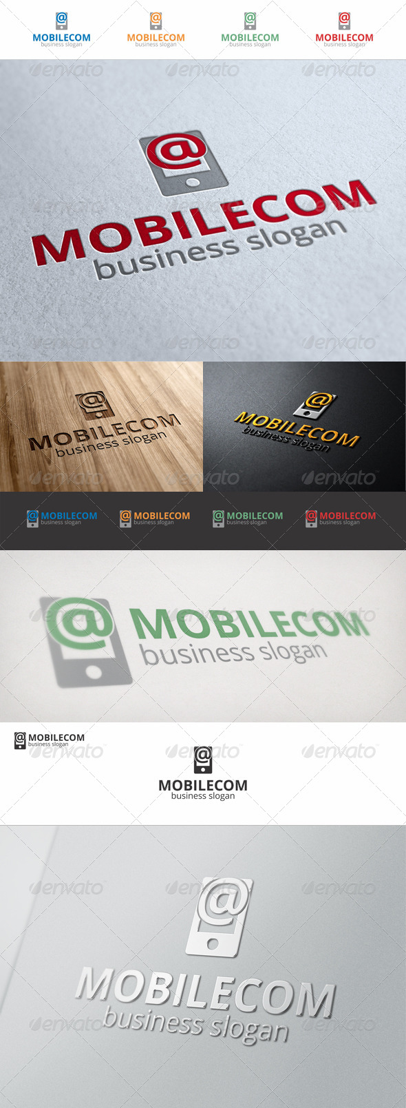 GraphicRiver Mobile Com Internet Logo 6914437