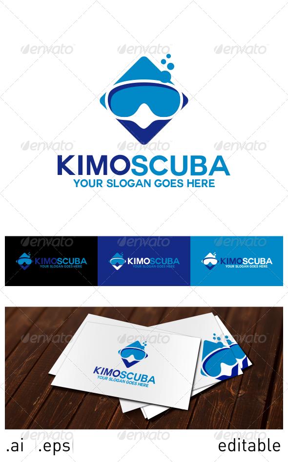 GraphicRiver Kimo Scuba Logo Template 6914439
