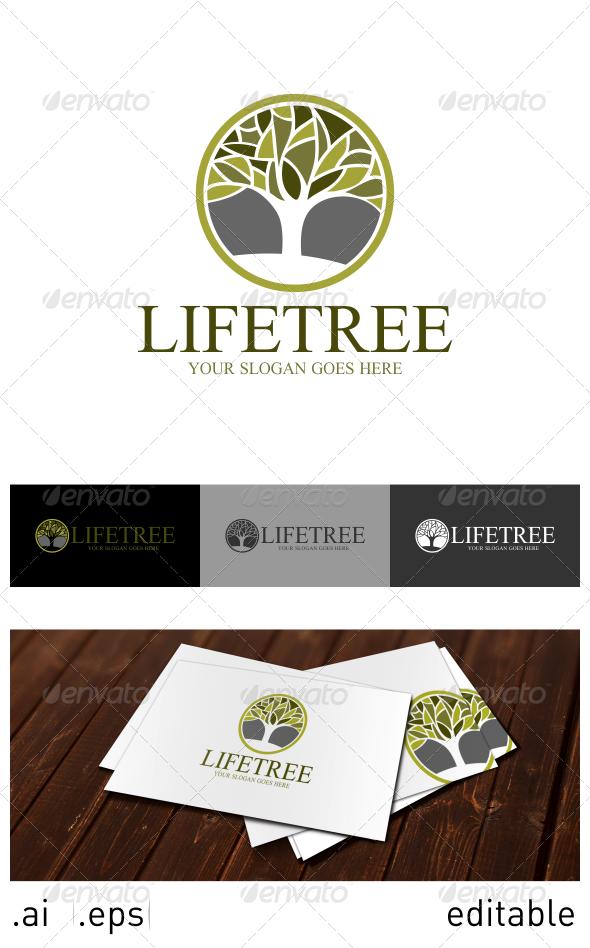 GraphicRiver Life Tree Logo Template 6914457