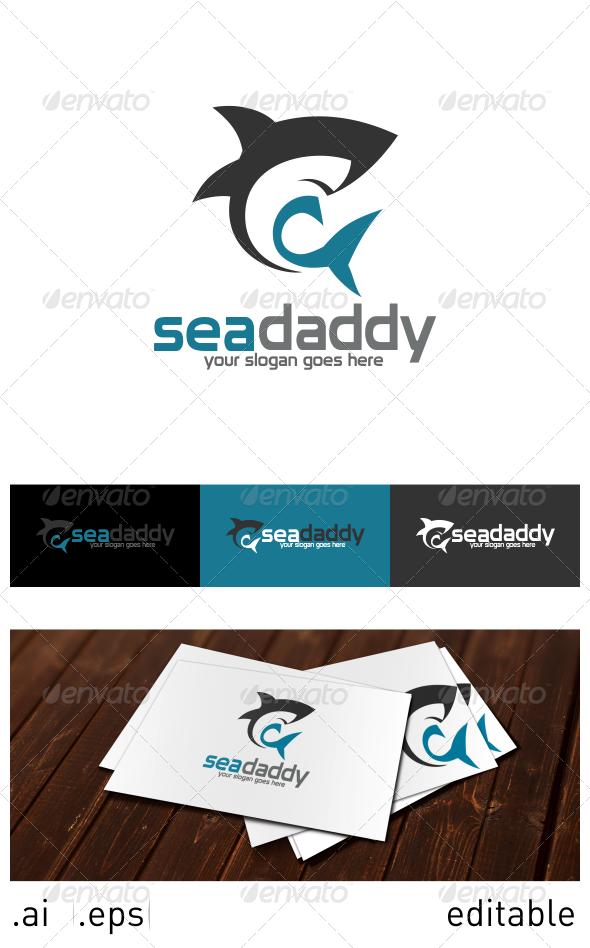 GraphicRiver Sea Daddy Logo Template 6914557