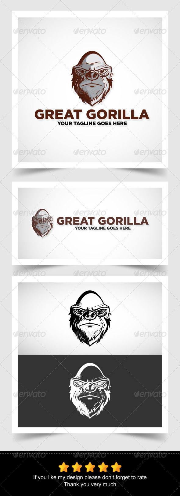 GraphicRiver Great Gorilla 6914578