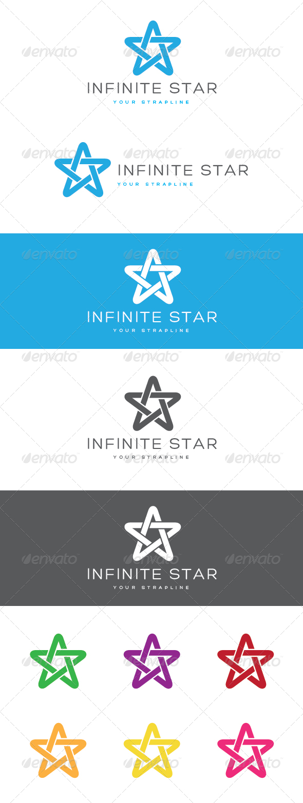 GraphicRiver Infinite Star Logo 6914582