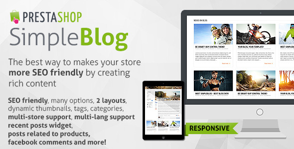PrestaShop - Simple Blog