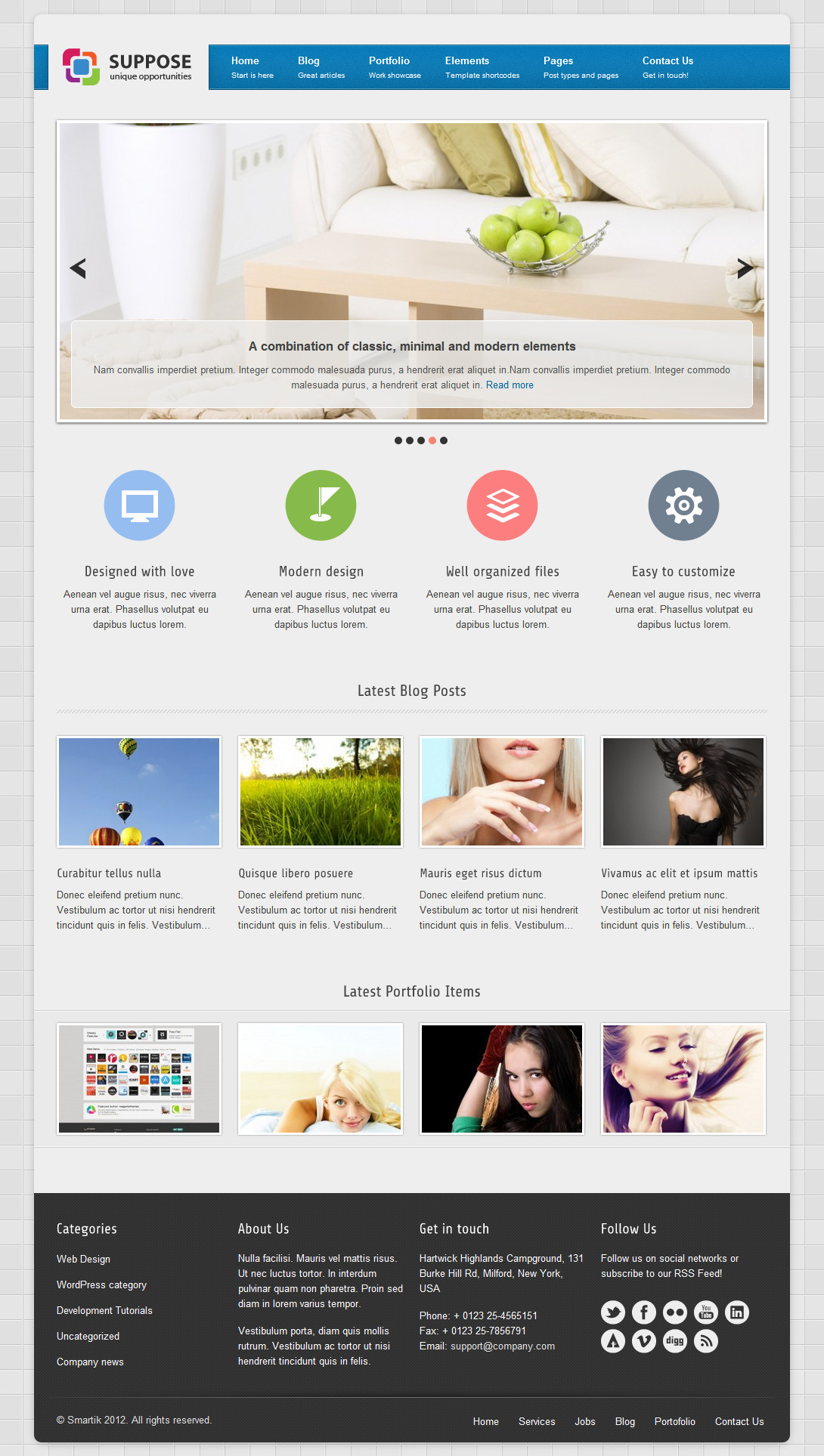 Suppose - Premium Wordpress Theme