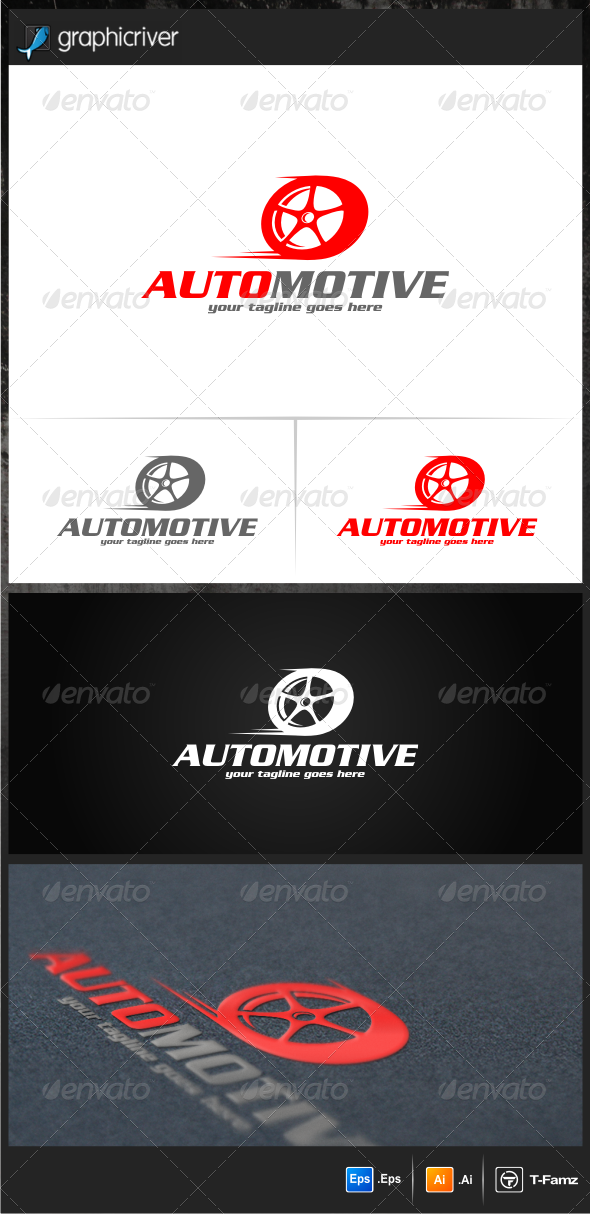 GraphicRiver Automotive Logo Templates 6914622