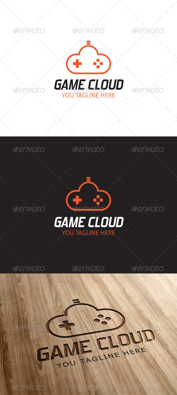 GraphicRiver Game Cloud Logo Template 6914624