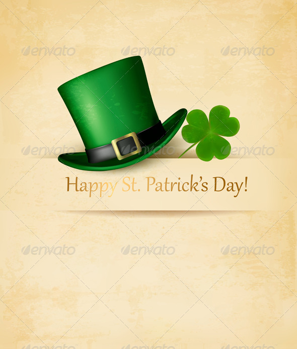 GraphicRiver Saint Patricks Day Background 6914638