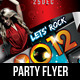 2011 New Year Dance Music Party Night Flyer - GraphicRiver Item for Sale